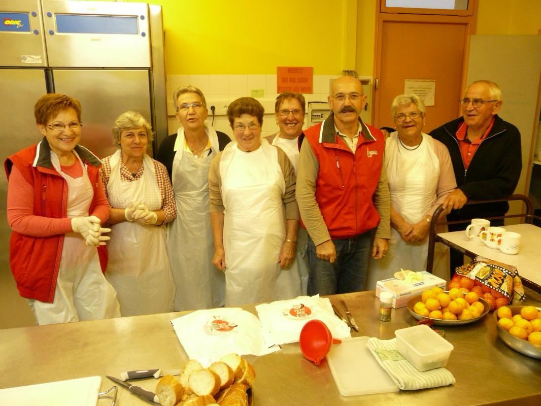 Equipe bénévoles CHABANAIS/EXIDEUIL